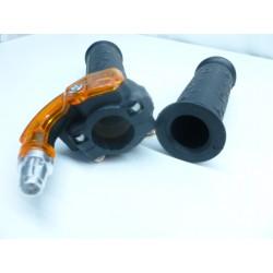 Poignée de gaz pocket bike quad cross diam 22 mm bridable