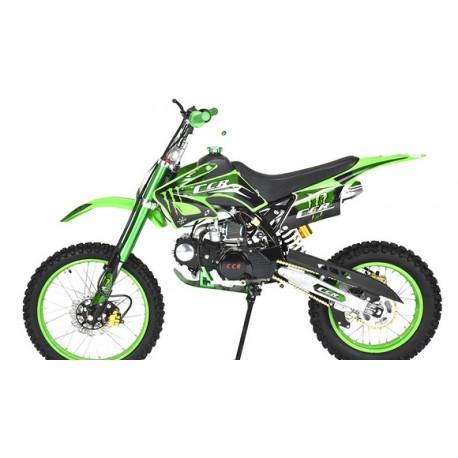 Kit déco dirt bike ccr 125 VERT