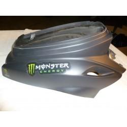 Carénage arrière noir mat scooter bw's 50c 2004