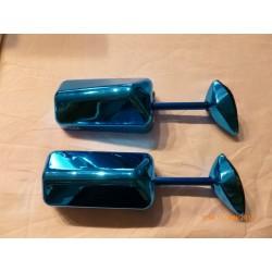 Jeux Rétroviseur F11 réversible a applique bleu