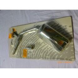 Rétroviseur F11 réversible a applique chrome