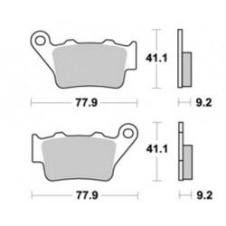 Plaquette de frein suzuki origine équivalent mor 290