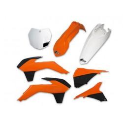 Kit Plastiques Ufo Couleur Origine 2013 à 2015 Pour Ktm 350/450