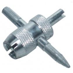 Démonte obus et valve 4 fonctions