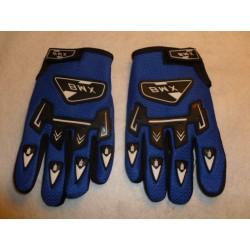 gants enfants BWX cross bleu taille 9