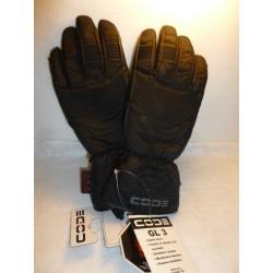 Gants moto CODE GL3 Noir taille 9