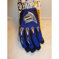 gants moto homme SHIFT ASSAULT GLOVE bleu large( XL taille 11)