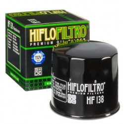 Filtre À Huile Hiflofiltro Hf138 suzuki artic cat
