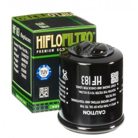 Filtre à huile Hiflofiltro HF183 aprilia piaggio peugeot derbi gilera