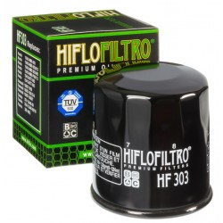 Filtre à huile Hiflofiltro HF303 honda polaris kawasaki yamaha