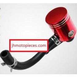 bocal réservoir de frein rouge anodisé moto mécaboite