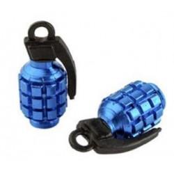Bouchon de valve Tun'R Grenade Bleu