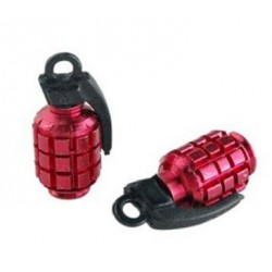 Bouchon de valve Tun'R Grenade rouge