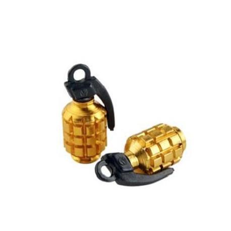 Bouchon de valve Tun'R Grenade or
