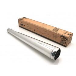 Silencieux universel Bihr Megaphone Vintage chromé 36mm a 38 mm