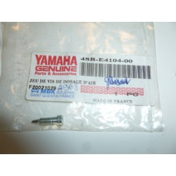 vise de dosage d'air ( richesse ) d'origine yamaha pour tzr 50,yn 50,cs 50,cw 50,bw's 50,dt 50 r, cw50 slider