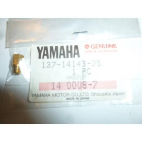 gicleur de carburateur d'origine yamaha DT 175 année 1991-2012