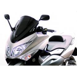 BULLE RACING COURTE NOIRE YAMAHA T MAX 500 2008-2011