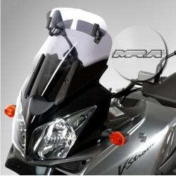 Bulle VARIO MRA Suzuki V-Strom 650/1000 04-11/ Kawasaki KLV 1000 04-06 fumé clair
