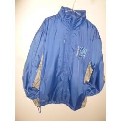 Veste de pluie avec capuche husqvarna taille xl couleur bleu