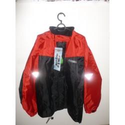Veste de pluie HELD MISTRAL taille XL couleur rouge et noir
