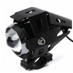 PHARE LED Feux Ampoule Anti Brouillard Lampe Blanc 1200LM Moto