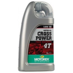 MOTOREX MOTOR OIL CROSS POWER 4T SAE 10W/50