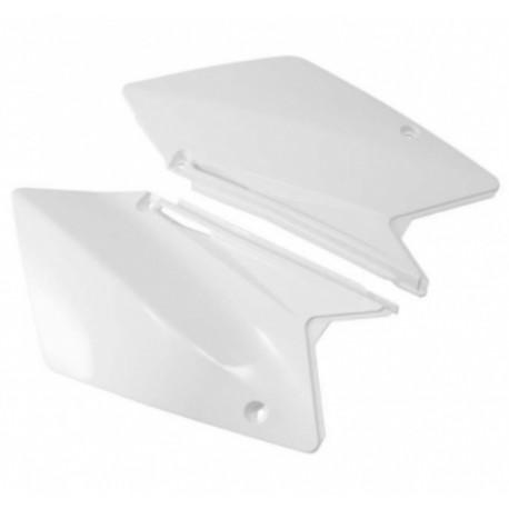 Plaque numéro latérale RM125-250 06-09 Blanc Ufo
