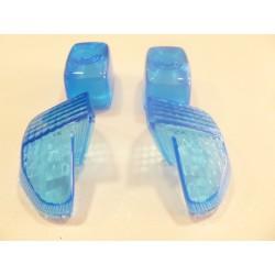 Kit 4 Cabochons Clignotants Bleus adaptable pour Booster 1999