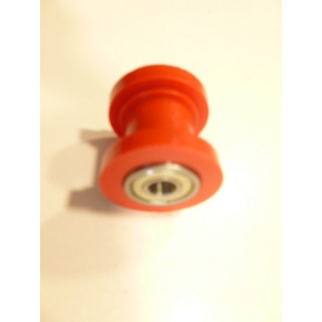 Roulette de chaine rouge diam 8 mm