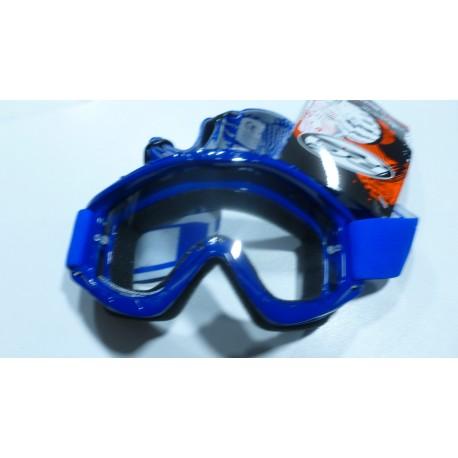 Lunette cross rc bleue