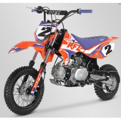 Pit bike apollo rfz orange rookie 110cc semi-auto roue 10/12 2021