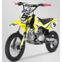 Pit bike apollo jaune rfz rookie 125cc roue 12/14 2021