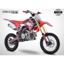 Pit Bike GUNSHOT 150 FX - 17/14 - Blanc - 2021 DIRT BIKE MINI CROSS