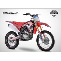Moto cross GUNSHOT 250 MX-3 - Rouge - 2021 Tout Terrain Enduro
